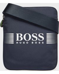 BOSS - Pixel Pouch Bag - Lyst