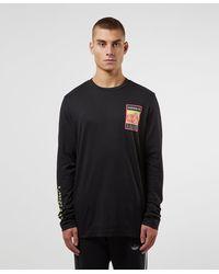 adidas Originals Outdoor Graphic Long Sleeve T-shirt - Black