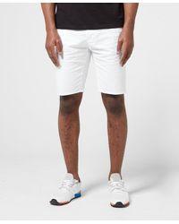 HUGO Glen Chino Shorts - White