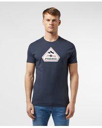 Pyrenex Karel Short Sleeve T-shirt Navy Blue