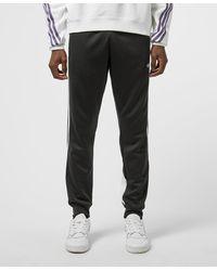 adidas Originals 3 Stripe Wrap Sweatpants - Black