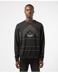 adidas Originals Rivalry Crew Sweatshirt - Black