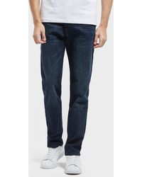 BOSS - Taber Stretch Tapered Jeans - Lyst
