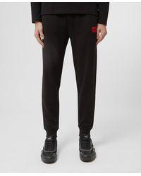 HUGO Doak Square Track Trousers - Black