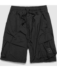 Marshall Artist Polyamid Cargo Shorts - Black