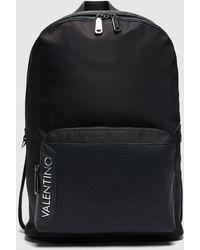 Valentino Garavani Ben Side Logo Backpack - Black