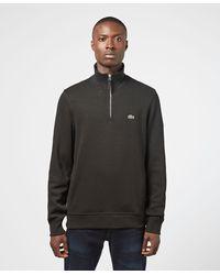 Lacoste Pique Half Zip Sweatshirt - Multicolor