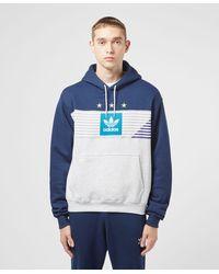 adidas Originals Campeona Overhead Hoodie - Blue