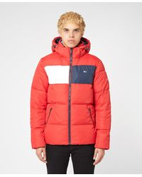 Tommy Hilfiger Colour Block Jacket - Red
