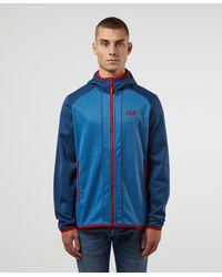 Jack Wolfskin Hydro Hooded Jacket - Blue