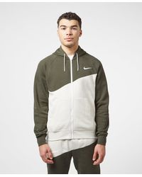 Nike Swoosh Fleece Full Zip Hoodie - Multicolour