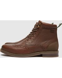 Barbour Seaton Boots - Brown