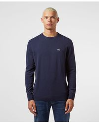 Lacoste Classic Knitted Sweater - Blue