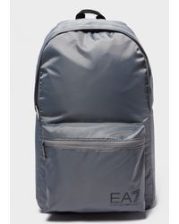 EA7 - Train Logo Backpack - Lyst