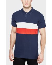 Tommy Hilfiger - Block Flag Polo Shirt - Lyst