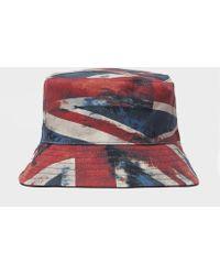 Pretty Green - Union Jack Bucket Hat - Lyst