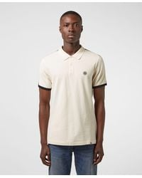 Pretty Green Tilby Tape Short Sleeve Polo Shirt - Exclusive - Multicolour