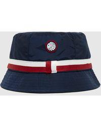 Pretty Green Tilby Stripe Bucket Hat - Blue