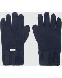 Calvin Klein Knitted Gloves - Blue