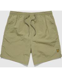 Lyle & Scott Swim Shorts - Green