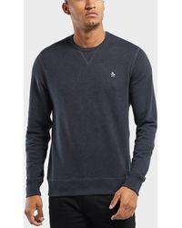 Original Penguin - Basic Crew Sweatshirt - Lyst