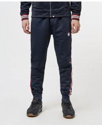 Pretty Green - Tape Cuffed Fleece Trousers - Online Exclusive - Lyst