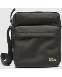 Lacoste Croc Cross Body Bag - Black