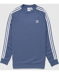 adidas Originals 3-stripes Sweatshirt - Blue