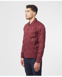 Pretty Green Connor Overshirt - Red