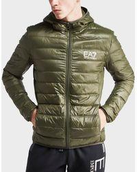 EA7 - Down Bubble Jacket - Lyst