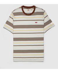 Levi's - Ringer Stripe T-shirt - Lyst