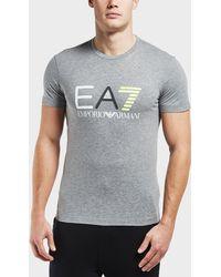 EA7 - Logo Series Short Sleeve T-shirt - Lyst