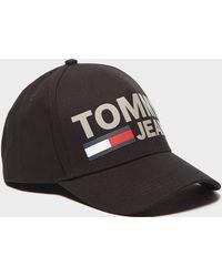 Tommy Hilfiger   Print Logo Cap   Lyst