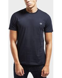 Fred Perry - Crew Neck T-shirt - Lyst