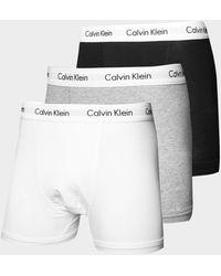 Calvin Klein 3-pack Trunks - Grey
