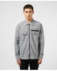 BOSS by Hugo Boss Lovel Full Zip Overshirt - Black