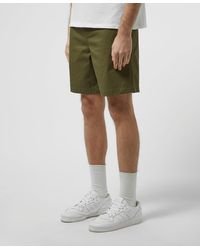 Fred Perry Draw Twill Shorts - Green
