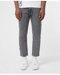 Calvin Klein Tape Dad Jeans - Grey