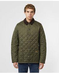 Barbour Liddesdale Olive Padded Jacket - Green
