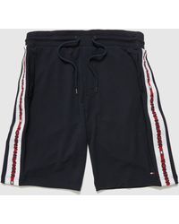 Tommy Hilfiger Loungewear Taped Shorts - Blue