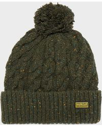 Barbour - International Bobble Hat - Lyst
