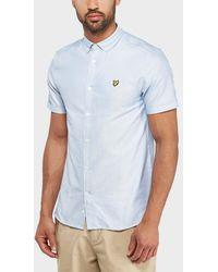 Lyle & Scott - Oxford Short Sleeve Shirt - Lyst