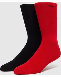HUGO 2 Pack Socks - Red