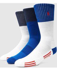 Polo Ralph Lauren - 3 Pack Socks - Lyst