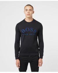 BOSS by Hugo Boss Salbo Crew Sweatshirt - Black