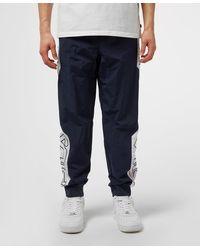 Fila Colour Block Nylon Track Trousers - Blue