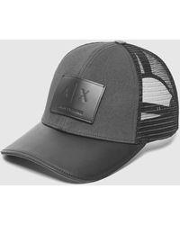 Armani Exchange - Trucker Cap - Lyst