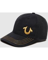 True Religion Shoe Logo Cap - Black