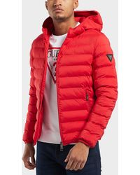 Guess - Seamless Bubble Jacket - Lyst