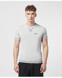 Jack Wolfskin Core Poly Short Sleeve T-shirt - Multicolour